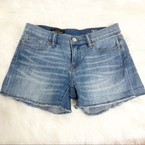 J. Crew Indigo Denim Shorts